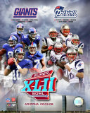 Super Bowl XLII Giants vs. Patriots Photo
