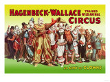 Hagenbeck-Wallace Circus, An Army of Clowns Prints
