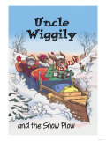 Uncle Wiggily and Friends: The Snow Plow Posters