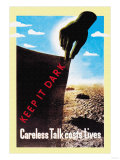 Careless Talk Costs Lives Print