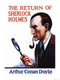 The Return of Sherlock Holmes II Posters af Charles Kuhn