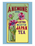 Anemone Brand Tea Posters