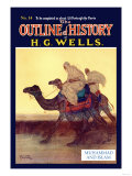 Outline of History by H.G. Wells, No. 14: Muhammad and Islam Posters