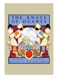 The Knave of Hearts Affiche par Maxfield Parrish