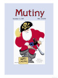 Pirate Santa Posters by Don Herold
