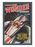 Thrilling Wonder Stories: Sheena and the X Machine Premium Giclee Print