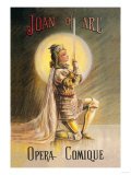 Joan of Arc: Opera Comique Posters