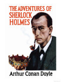 Sherlock Holmes by Arthur Conan Doyle, Giclee Print