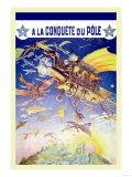 A La Conquete du Pole Prints