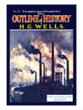 Outline of History by H.G. Wells, No. 21: The Nationalist Century Premium Giclee Print
