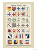 Crosses and Partition Lines Posters by Hugh Clark