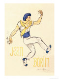 Jean Borlin, c.1920 Posters by Th&#233;ophile Alexandre Steinlen