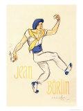 Jean Borlin, c.1920 Prints by Théophile Alexandre Steinlen