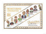 Nutty Family Chocolates Posters