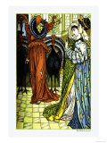 The Yellow Dwarf, The Sorcerer, c.1878 Prints by Walter Crane