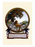 Nameplate Kunstdrucke von Maxfield Parrish