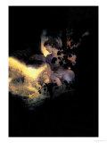 Deep Woods, Moonlight Poster von Maxfield Parrish