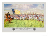 The Battle of Chippewa, War of 1812 Premium Giclee Print by Hugh Charles Mcbarron Jr.