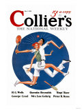 Collier's: Tennis Collision Prints