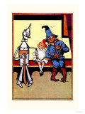 Tin Man, Dorothy and Scarecrow Posters by John R. Neill
