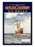 Outline of History by H.G. Wells, No. 16: Empire Takes to the Sea Posters