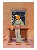 Violetta Poster von Maxfield Parrish