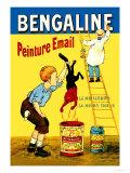 Bengaline: Peinture Email: La Meilleure, La Moins Chere Prints by Eugene Oge