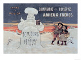 Amieux Freres Posters by Eugene Oge