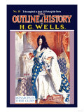 Outline of History by H.G. Wells, No. 18: Monarchs in Their Glory Photo