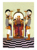 The King of Hearts Print by Maxfield Parrish