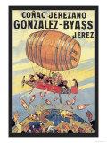 Conac Jerezano Gonzales-Byass Kunst af Eugene Oge
