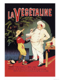 La Vegetaline Poster af Eugene Oge