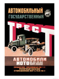 Russian Vehicles Prints by D. Tarkhov