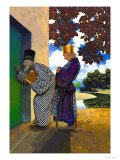 The Chancellor and Pompdebile Prints by Maxfield Parrish