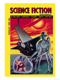 Science Fiction Adventures, February 1953 Prints