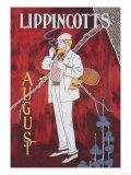 Lippincott's August Posters