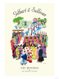 Gilbert & Sullivan: The Mikado, or The Town of Titipu Poster