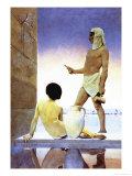 Ägypten Kunstdruck von Maxfield Parrish