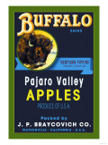 Buffalo Brand Apples Posters
