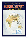 Outline of History by H.G. Wells, No. 24: The Next Stage Premium Giclee Print