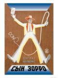 Don X, fils de Zorro Posters par  Stenberg Brothers