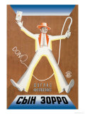 Don Q- Son of Zorro Prints by  Stenberg Brothers