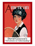 American Magazine: Tennis Poster