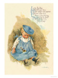 Little Boy Blue Lminas por Maud Humphrey