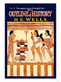 Outline of History by H.G. Wells, No. 10: Ritual Prints