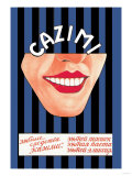 Kazimi Dental Products: Toothpaste, Powder, and Mouthwash Posters