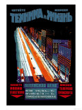 Blad om radio, telefon, telegraf og transport Plakater