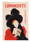 Lippincott's, February 1895 Posters by Will Carqueville