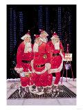 Salvation Army Santas Poster