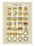 Foreign Crowns: Celestial, Eastern Poster von Hugh Clark